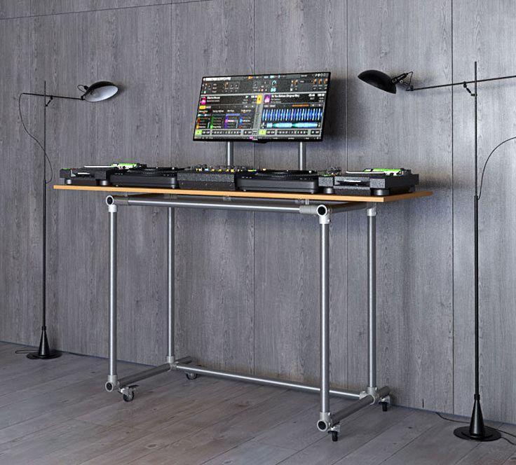 die besten 25 dj pult ideen auf pinterest dj pult tisch dj pult bauanleitung und dj table ikea. Black Bedroom Furniture Sets. Home Design Ideas