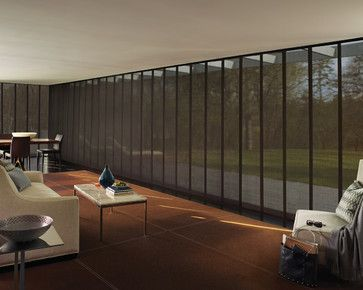 Hunter Douglas Skyline® #Hunter_Douglas  #Skyline #Vertical_Blinds #Vertical_Window_Treatments