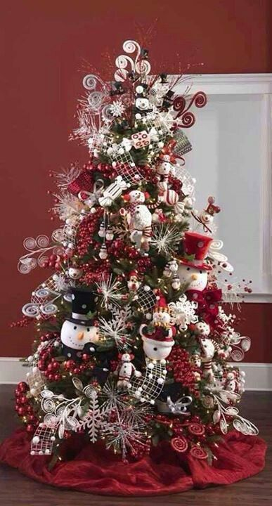 I like the swirl sticks === 25 Fabulous Christmas Trees - The Contractor Chronicles