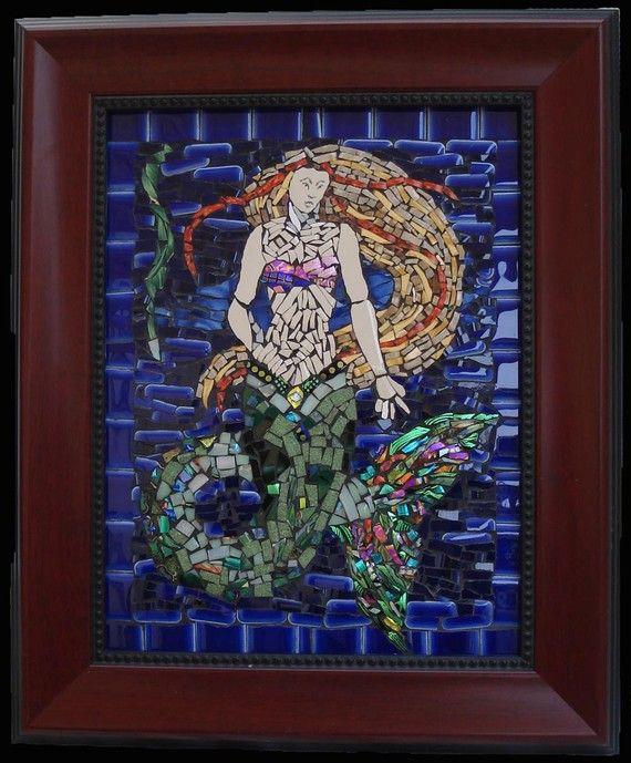 101 Best Mermaid Mosaics Images On Pinterest Mermaids