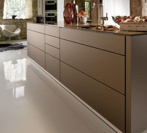 Kitchen Ideas, Contemporary Unit Kitchens And Glass Kitchen
