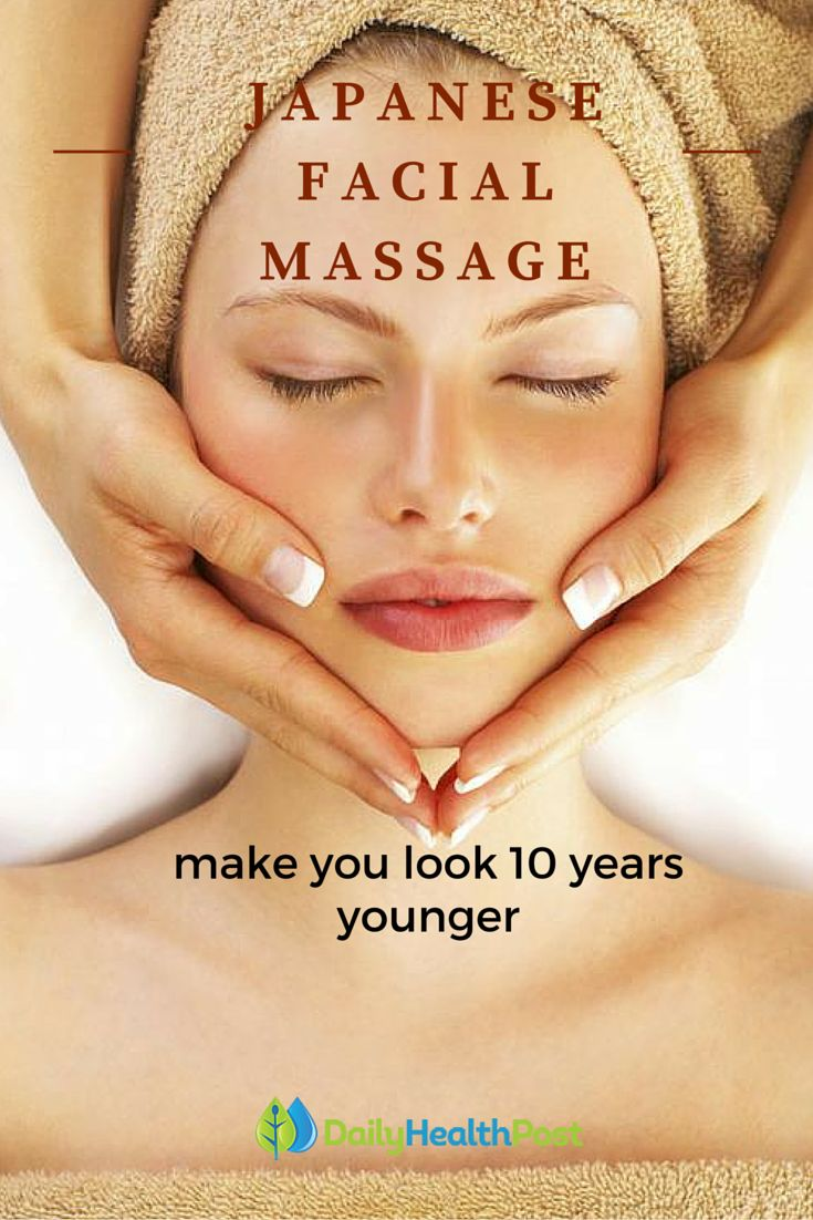 This Japanese Facial Massage Will Rejuvenate Your Skin And Make You Look 10 Years Younger!