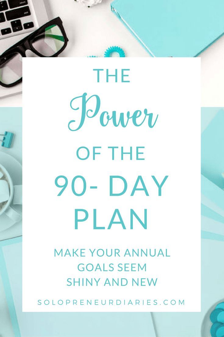 Are your annual business goals on track?  Use these tips to craft a 90 Day plan that will help you stay focused, level up your productivity and crush your goals.