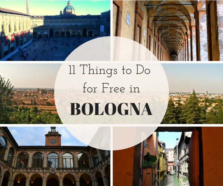 11 Dinge, die man in Bologna kostenlos machen kann