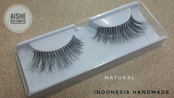 AISHE Bulumata is my natural eyelashes brand.Indonesia handmade and from human hair 😊.