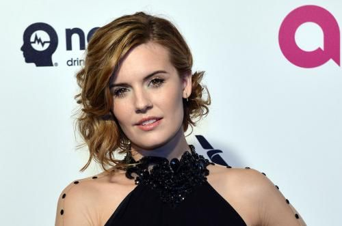 """Maggie Grace, who played Shannon Rutherford on """"Lost,"""" tied the knot with Brent Bushnell in La Jolla."""