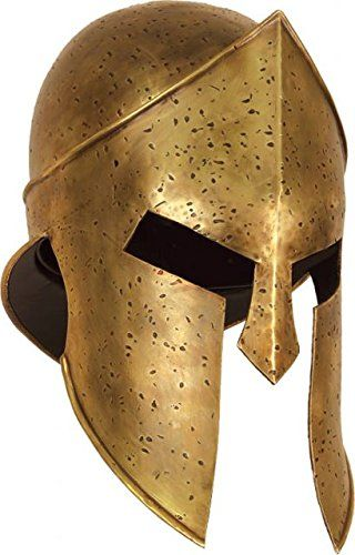 Museum Replicas 300 Spartan Helmet, 12in. -- Visit the image link more details.
