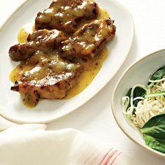 Taste Mag | Pork neck steaks with clementine sauce @ http://taste.co.za/recipes/pork-neck-steaks-with-clementine-sauce/