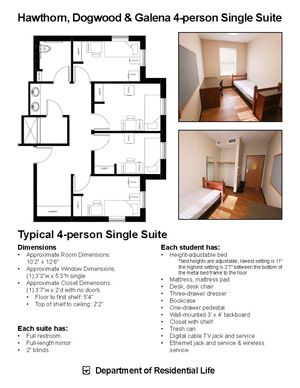 HawLeWood 4 person Single Suite | Hawthorn, Galena