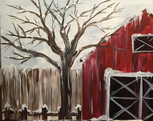Saw this and it looks like one of the barns so might go and take a photo and do it,  Add a few things that are gone now like tree and silo