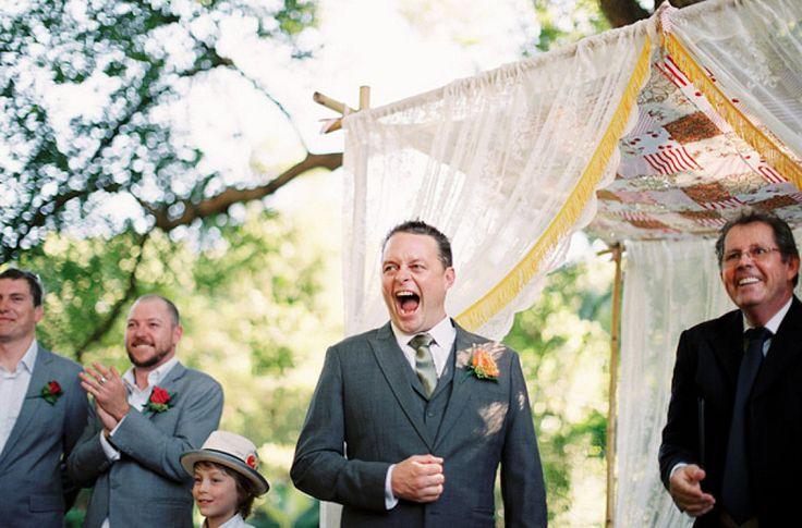 Recordamos las más conmovedoras reacciones de novios al ver a las novias de blanco
