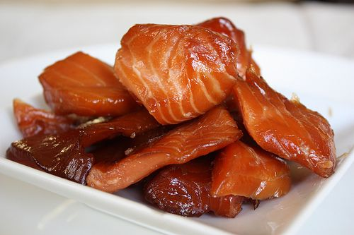 this makes me want a smoker--Indian Candy Salmon
