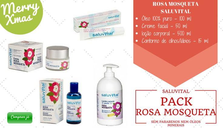 A aplicação diária dos produtos Rosa Mosqueta Saluvital, ajuda a atrasar o envelhecimento da pele evitando o aparecimento de linhas, rugas e manchas.