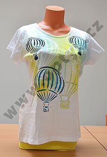 Šablona 2 balóny , 20 x 30 cm, plast