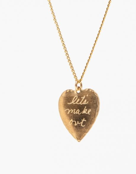 Lets make out necklace