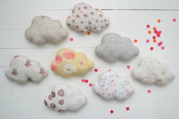 Decorate Cloud Pillows for Kids Rooms