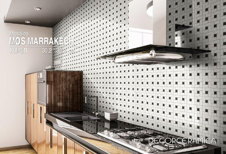 Lleva el arte marroquí a tus pisos y/o paredes con el Mosaico Marrakech de #Klipen