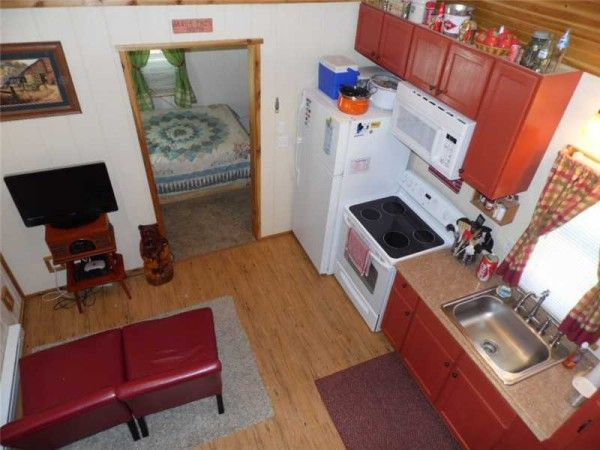 tiny home on homestead near eureka springs ak for sale 004 600x450   416 Sq. Ft. Whimsical Tiny Home on 2.79 Acres for Sale