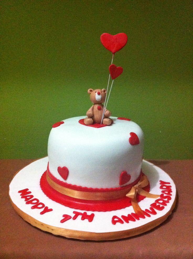 Cute Anniversary Cake Images : Cute anniversary cake My cakes Pinterest