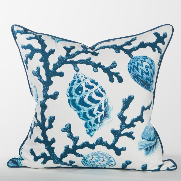 Newport Throw Pillows Birds : 56 best images about Newport Collection on Pinterest Indigo, Coral pillows and Shops