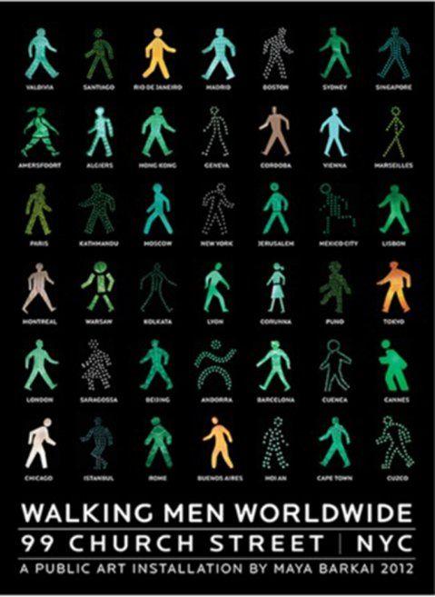 La instalación Walking Men llegó a Buenos Aires | Diario de Cultura