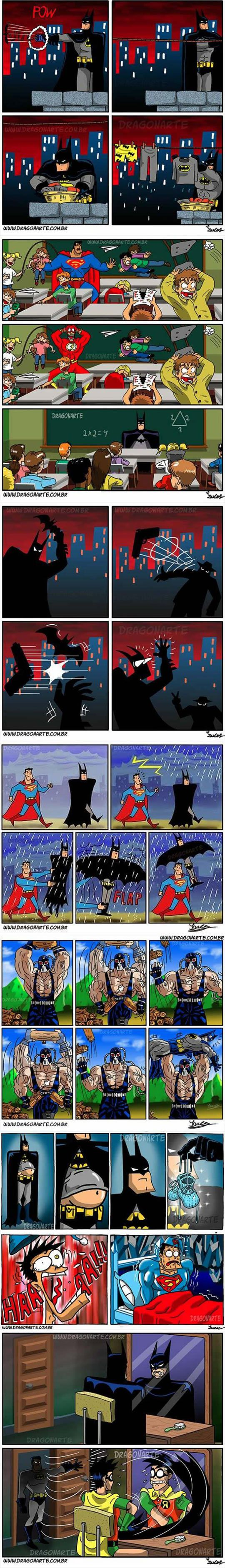 Funniest Batman Comics Collection Part II