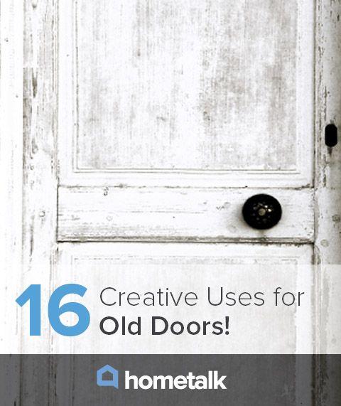 76 best images about doorboard on pinterest diy door for Creative old door ideas