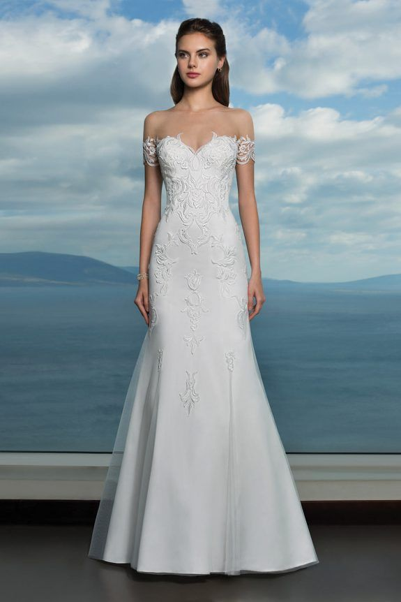 Oreasposa Wedding Dress L915 The Detached Lace Armbands Add A