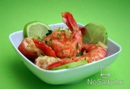 Zöldcitromos sült garnéla  http://www.nosalty.hu/recept/zoldcitromos-sult-garnela