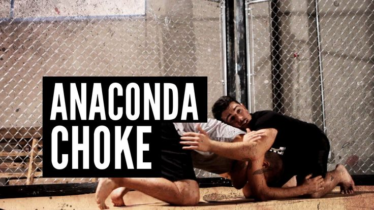"Randy Couture's Anaconda Choke | Andrew ""Squid"" Montañez | mmasurge.com #mma"