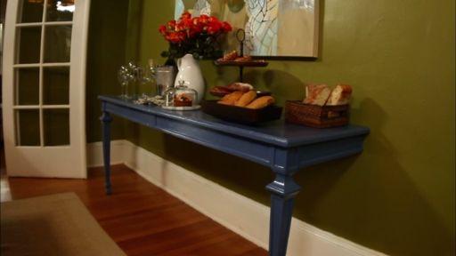 DIY Dining Room Buffet Table
