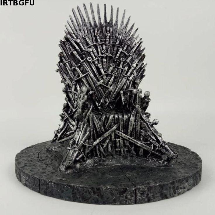6 inch Iron Throne Replica //Price: $52.99 & FREE Shipping //     #gameofthronesfamily