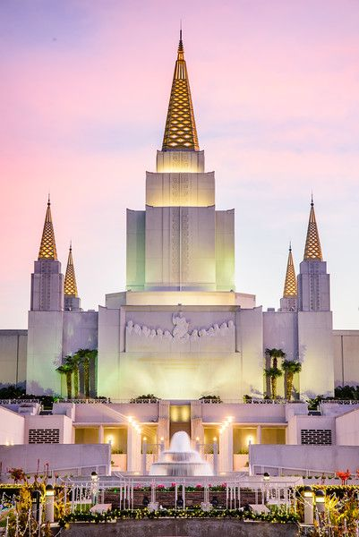 Oakland LDS Temple - JarvieDigital Photography