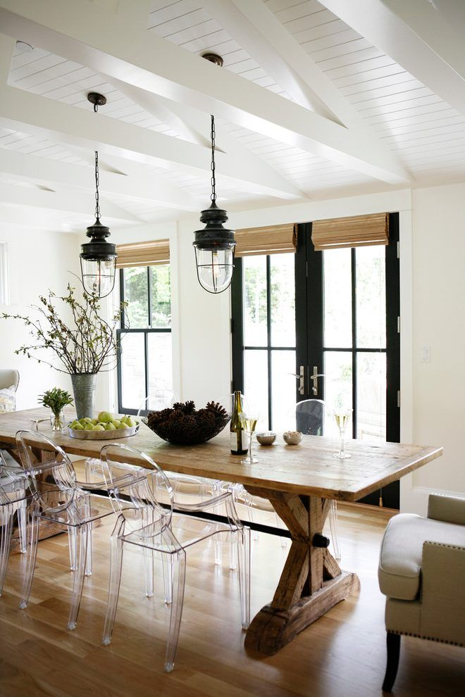 Farmhouse Outdoor Lighting Dining Room Farmhouse With