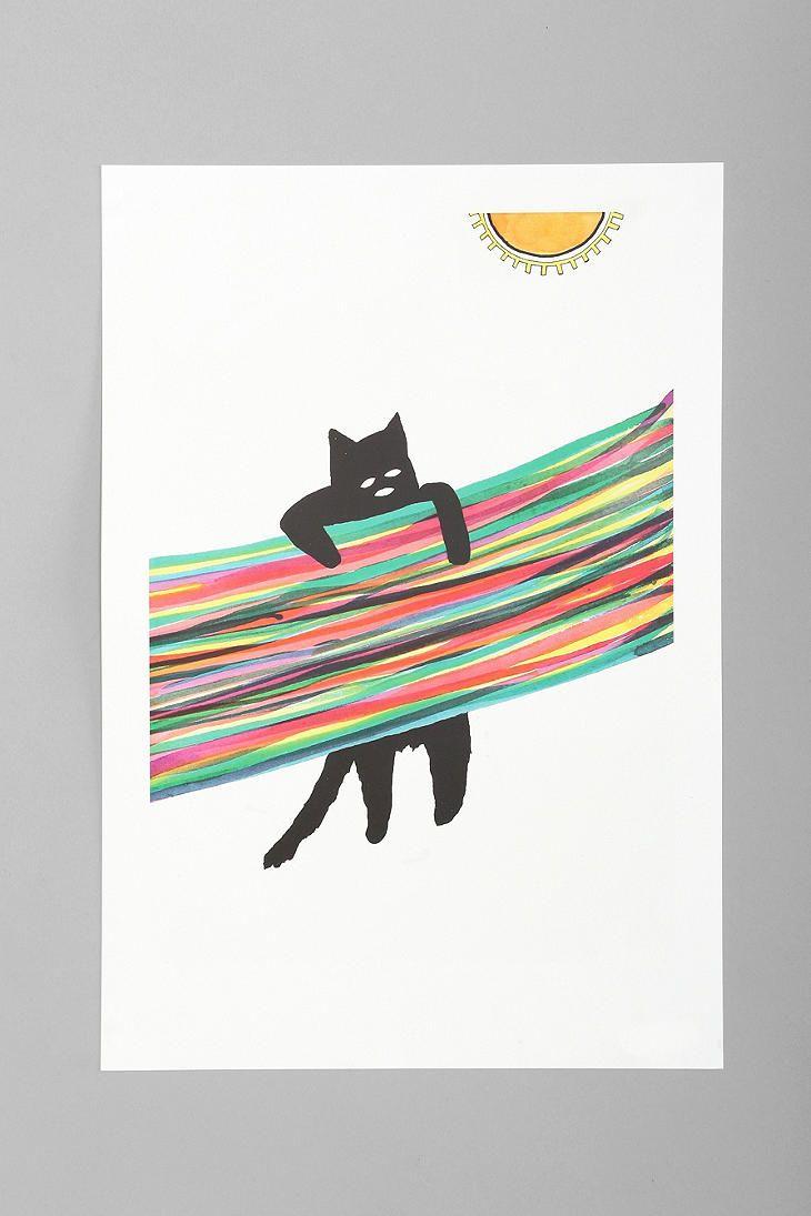 David Ubias Chin Up, Baby Art Print urban