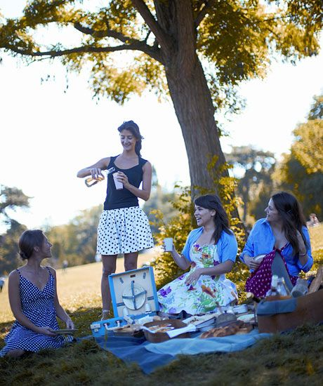 How to throw the perfect picnic  Rachel Khoo's tips for al fresco food – and an onion and creme fraiche tarte recipe to help the day along