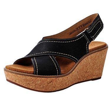 Clarks Aisley Tulip Wedge Sandal