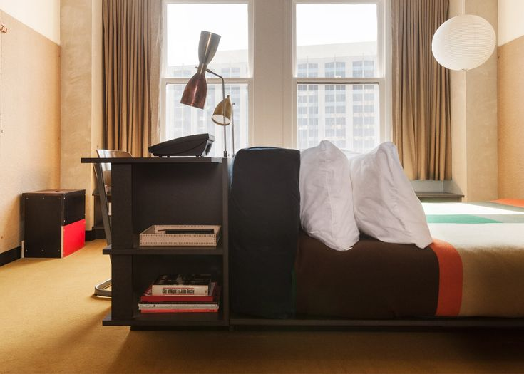 10 Of The Most Popular Hotel Rooms On Dezeens Pinterest Boards Los Angeles UsesDowntown