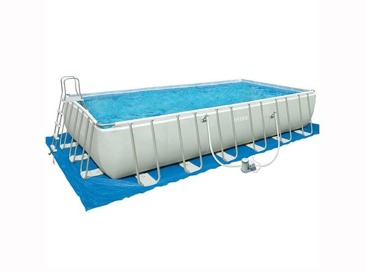 Oltre 25 fantastiche idee su piscina rettangolare su for Accessori piscine intex