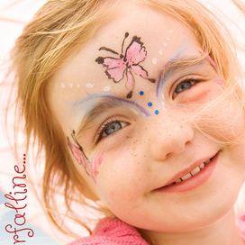 Truccabimbi: le farfalle   Donna Moderna