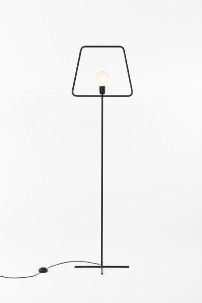 Slim, minimalistic floor lamp | lighting . Beleuchtung . luminaires | Design: Adolfo Abejon |