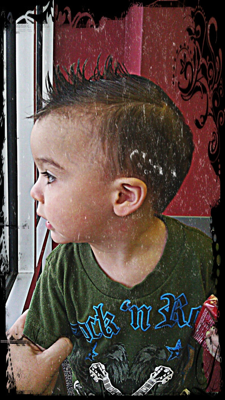 Little Boy Mohawk