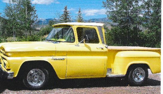 Gmc Truck Beds For Sale >> 1960 Chevy Apache Pickup Stepside Short Bed. (White/Aqua ...
