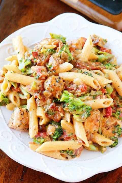 Cheesy Chicken Bacon Broccoli Pasta  Recipe  Cooking -9386