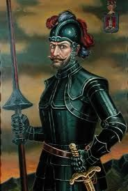 146 – (1536) Sebastián de Belalcázar funda en Colombia las ciudades de Popayán y Cali. Sebastián de Belalcázar o Benalcázar (Belalcázar (España 1480 - Cartagena de Indias, 1551), adelantado, conquistador español. Su nombre original era Sebastián Moyano, y cambió su apellido debido a que era oriundo de la población de Belalcázar (o Benalcázar), situada en Córdoba. El apellido Belalcázar está formado de las palabras árabes ben y alcázar que equivalen 'hijo del castillo' o 'hijo de la…