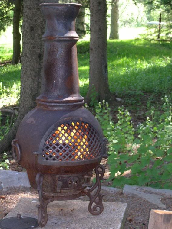 Would Love A Chiminea For My New Patio