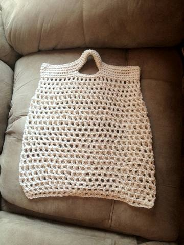 Crochet Reusable Grocery Bag Pattern Free Crochet Patterns