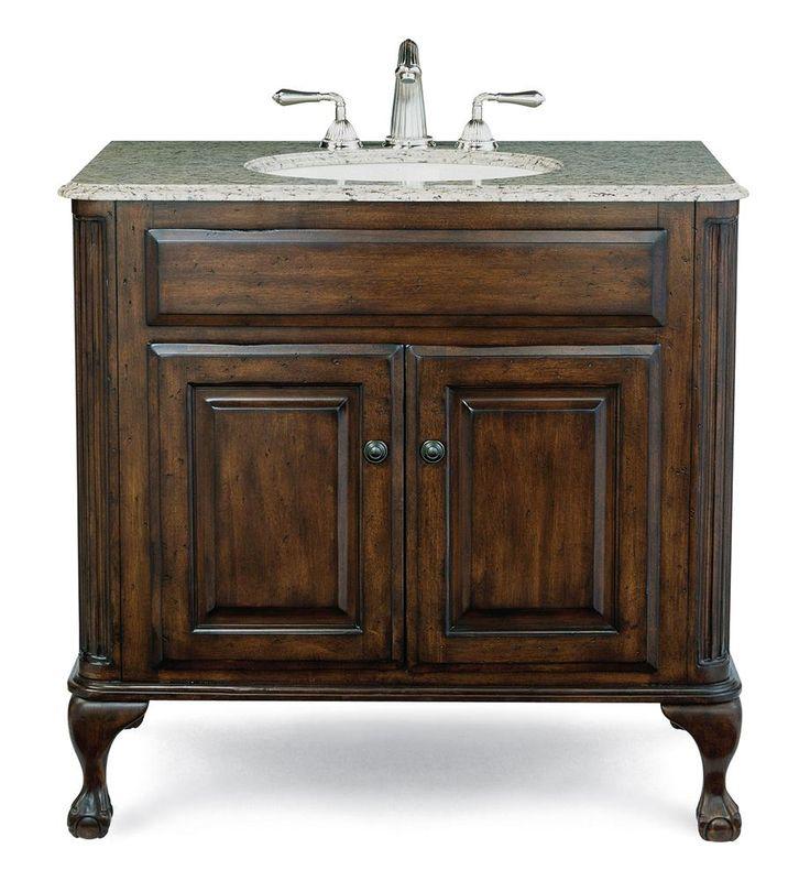 Custom estate bathroom vanity antique style vanities - Discount bathroom vanities without tops ...