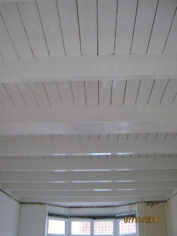 Oude woonkamer balkenplafonds jaren 30 google zoeken inspiratie boerderij pinterest - Verf een houten plafond ...