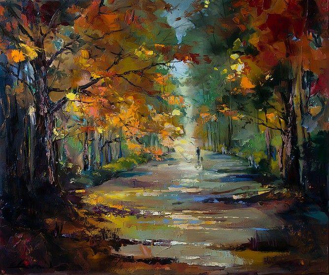 Autumn stroll Ewa Czaerieka